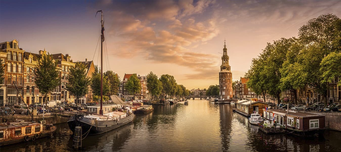 Amsterdam business class flights